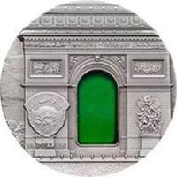 Реверс монеты «Искусство Тиффани - 2012»